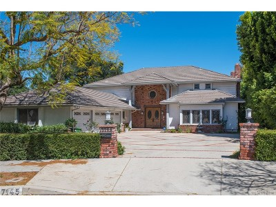 Encino Single Family Home For Sale: 17145 Addison Street