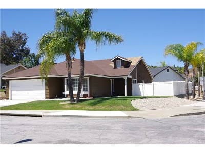 Castaic Single Family Home For Sale: 28403 Avion Circle