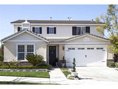 Newhall Single Family Home For Sale: 19537 Ellis Henry Court