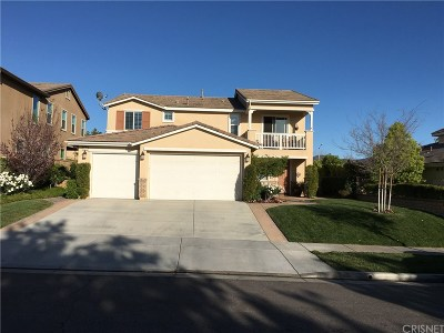 Saugus Single Family Home For Sale: 26454 Woodstone Place