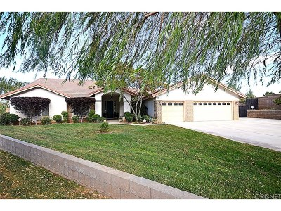 Palmdale Single Family Home For Sale: 4501 West Avenue N4