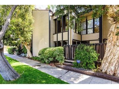 Studio City Condo/Townhouse For Sale: 4410 Laurelgrove Avenue