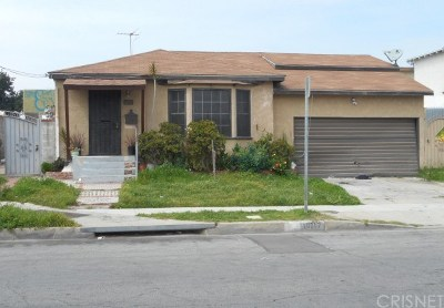 Los Angeles Single Family Home For Sale: 10717 South Budlong Avenue