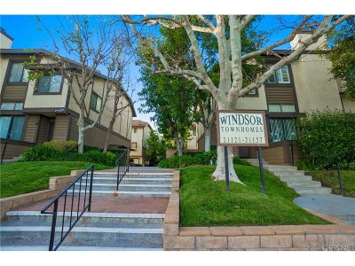 Chatsworth Condo/Townhouse For Sale: 21121 Lassen Street #4