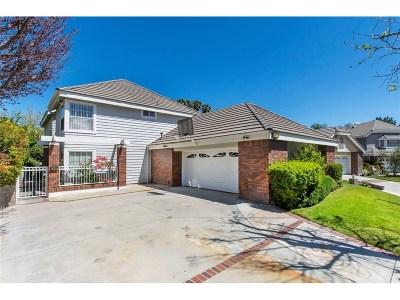 Valencia Single Family Home For Sale: 24411 Zermatt Lane