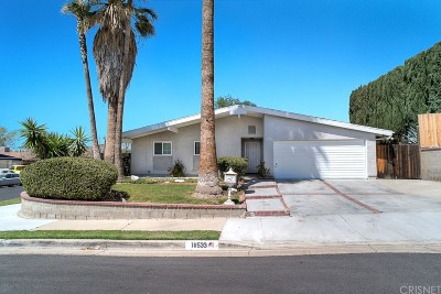 Canyon Country Single Family Home For Sale: 18533 Kimbrough Street
