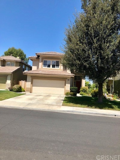 Canyon Country Single Family Home For Sale: 20209 Stevie Court