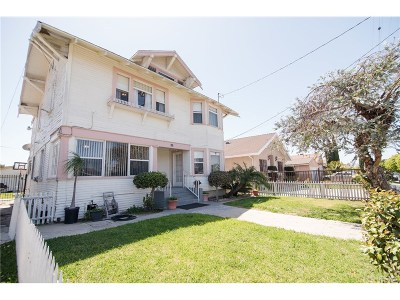Los Angeles Single Family Home For Sale: 608 West 50th Street