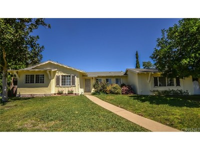Northridge Single Family Home For Sale: 18411 Chatsworth Street