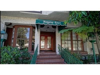 Encino Condo/Townhouse For Sale: 17914 Magnolia Boulevard #307