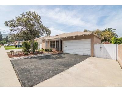 Sunland Single Family Home For Sale: 10435 Floralita Avenue