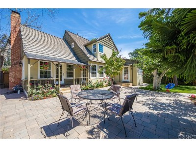 Single Family Home For Sale: 3755 Laurel Canyon Boulevard