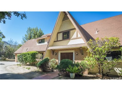Calabasas Single Family Home For Sale: 24301 Sylvan Glen Road