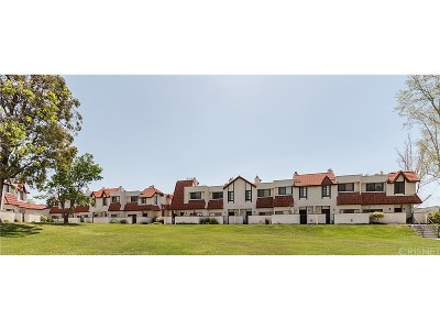 Canyon Country Condo/Townhouse For Sale: 27614 Nugget Drive #3