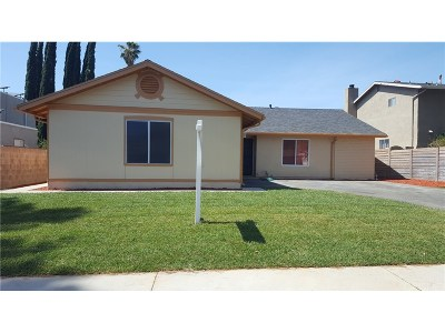 Saugus Single Family Home For Sale: 28147 Alaminos Drive