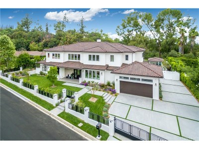 Tarzana Single Family Home For Sale: 5041 Palomar Drive