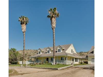 Canyon Country Single Family Home For Sale: 15315 Baker Canyon Road