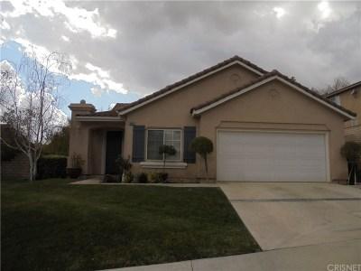 Saugus Single Family Home For Sale: 29037 Raintree Lane