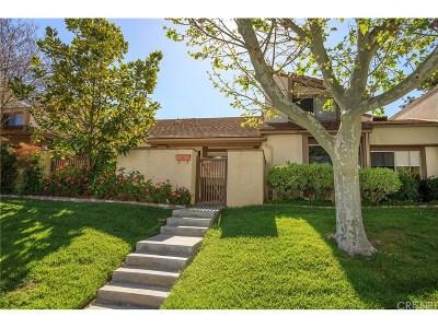 Valencia Condo/Townhouse For Sale: 25795 Vista Fairways Drive