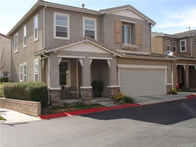 Newhall Single Family Home For Sale: 26077 Medici Court
