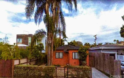 Venice Single Family Home For Sale: 2412 Clement Avenue