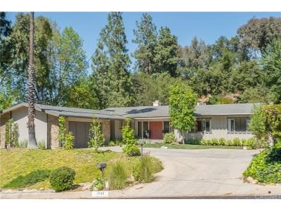 Encino Single Family Home For Sale: 3942 Ballina Drive