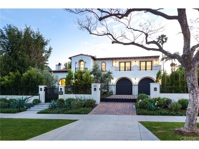 Beverly Hills Single Family Home For Sale: 605 North Palm Drive