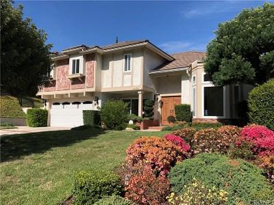Glendale Single Family Home For Sale: 2146 Camino San Rafael