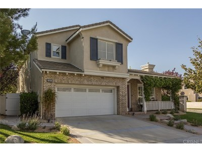 Stevenson Ranch Single Family Home For Sale: 25925 Tennyson Lane
