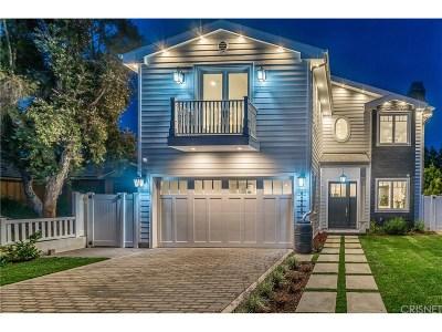 Sherman Oaks Single Family Home For Sale: 4248 Colbath Avenue