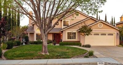 Quartz Hill CA Single Family Home For Sale: $447,900