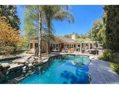 Hidden Hills Single Family Home For Sale: 25039 Lewis And Clark Road