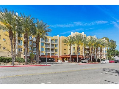 Woodland Hills Condo/Townhouse For Sale: 21301 Erwin Street #449
