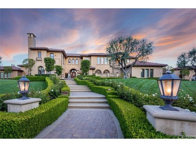 Calabasas CA Single Family Home For Sale: $11,500,000