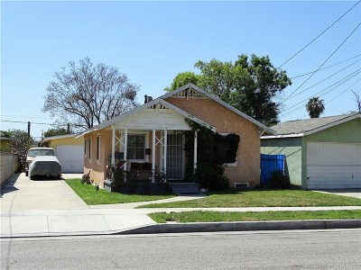 Inglewood Residential Income Pending: 3622 West 107th Street