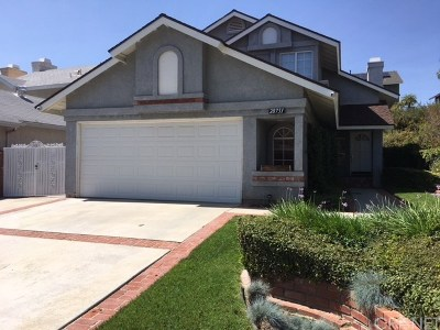 Saugus Single Family Home For Sale: 28731 Raintree Lane