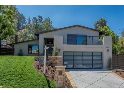 Calabasas CA Single Family Home For Sale: $1,399,000