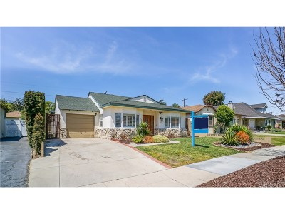Burbank CA Single Family Home Sold: $865,000