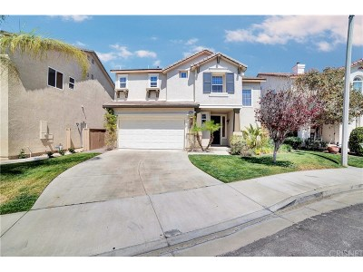 Canyon Country Single Family Home For Sale: 27206 Fieldwood Court