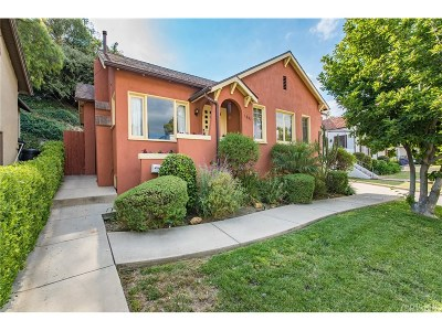 South Pasadena Single Family Home For Sale: 1941 Meridian Avenue