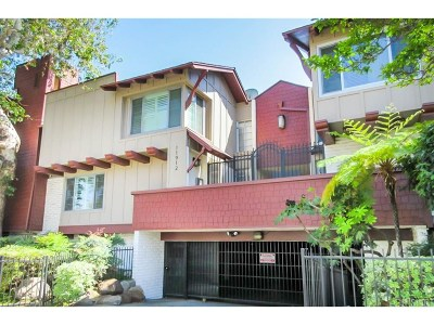 Valley Village Condo/Townhouse For Sale: 11912 Riverside Drive #23