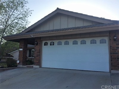 Canyon Country Single Family Home For Sale: 28339 Winterdale Drive