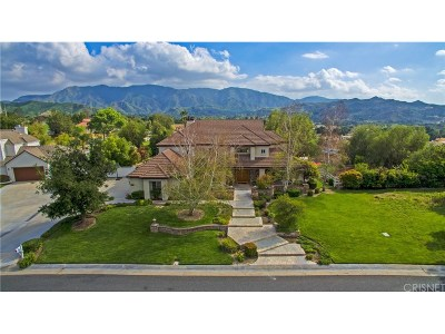 Canyon Country Single Family Home For Sale: 15716 Condor Ridge Road