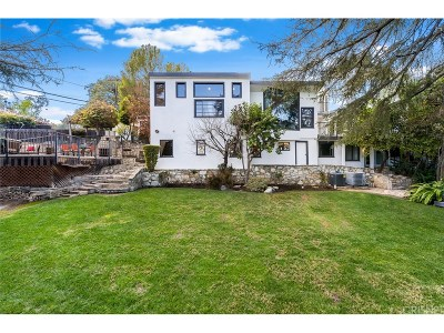 Encino Single Family Home For Sale: 16760 Oak View Drive