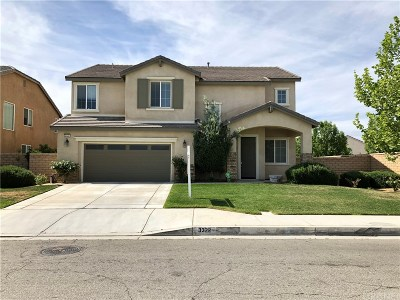 Lancaster Single Family Home For Sale: 3322 Arious Way