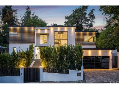 West Hollywood Single Family Home For Sale: 1131 Sunset Hills Road