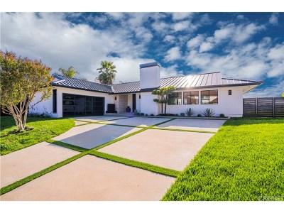 Encino Single Family Home For Sale: 3829 Encino Hills Place