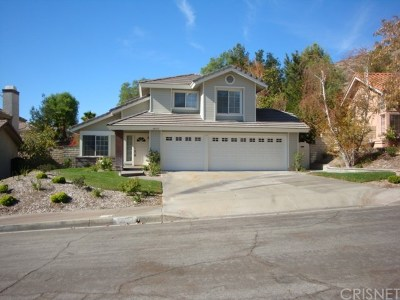 Canyon Country Single Family Home For Sale: 28025 Creston Court