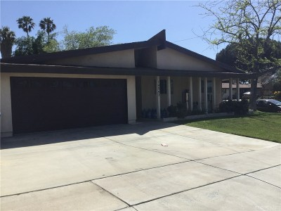 Canyon Country Single Family Home For Sale: 18542 Fairweather Street