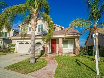 Castaic Single Family Home For Sale: 29938 Bancroft Place